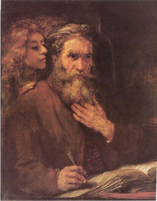 Matthieu et l'Ange