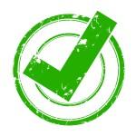 tampon vert - valid - checkbox