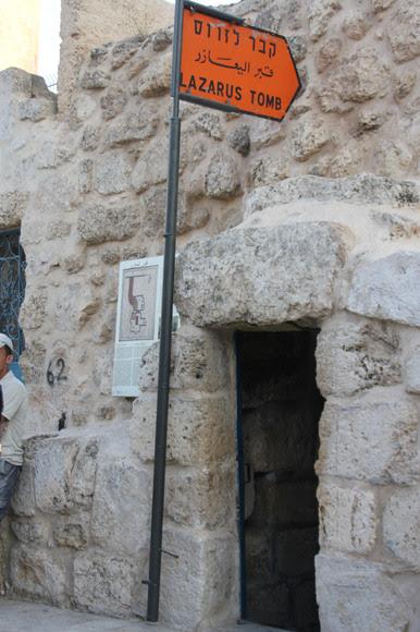 La tombe de Lazare